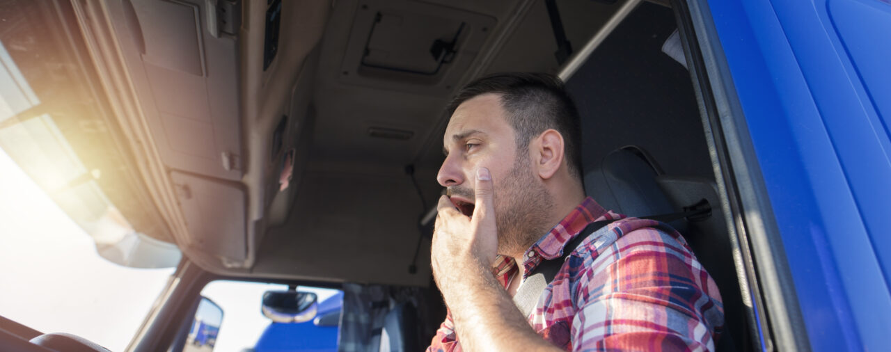 Truck Drivers Working Overtime and Fatigue